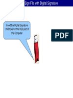 Steps for Digitally Signing Files
