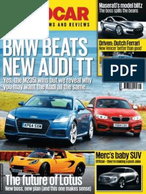 Autocar - November 5, 2014 UK | Hybrid Electric Vehicle | Chrysler