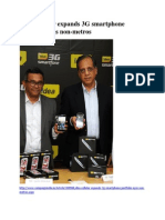 Idea Cellular Expands 3G Smartphone Portfolio