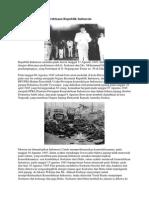 Sejarah Singkat Kemerdekaan Republik Indonesia