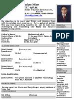 Fareed's CV K