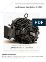 Most Common Motor Enclosure Types Defined by NEMA Standards
