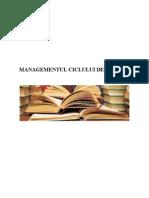 2. Managementul Ciclului de Proiect
