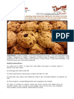 Bob Levin-Oatmeal Cookies