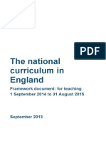 MASTER Final National Curriculum Until Sept 2015 11-9-13
