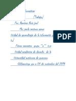 Plataformas informaticas