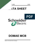 Schneider Domae MCB