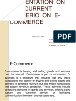 e Commerce Presentation