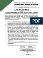 Revisi Pengumuman Hasil Verifikasi 2014 111014