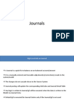 SAP BPC Journals