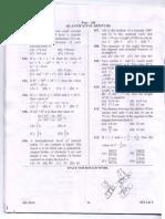 SSC CHSL 10+2 LDC Quesion paper for Aptitude Questions 09 November 2014