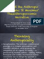 Beyond the Anthropic Principle