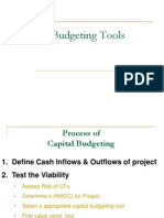 9 Capital Budgeting - Traditional Tools