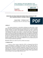 Designing of Telecommand System Using System on Chip Soc for Spacecraft Control Applications