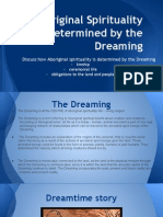 aboriginal spirituality as determined by the dreaming