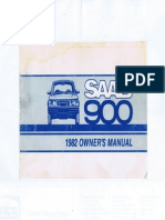 1982 saab 900 turbo - owners manual + APC supplement [OCR]