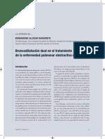 La Opinion de...Bernardino Alcazar Navarrete.  Broncodilatación dual en el tratamiento de la enfermedad pulmonar obstructiva crónica