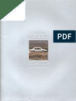 85 Saab 900 Brochure [OCR]