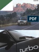 84 Saab 900 Brochure Gripenmislabeledasviggen [OCR]