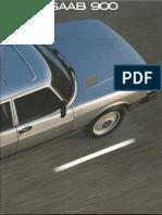 81 Saab 900 Brochure [OCR]