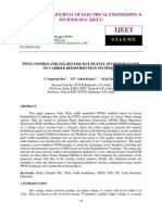 Pwm Control Strategies for Multilevel Inverters Based on Carrier Redistribution Technique