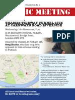 Super Sewer Public Meeting