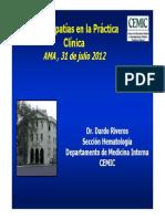 Coagulopatias en La Practica Clinica