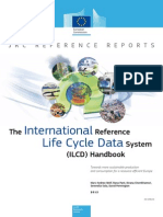 JRC Reference Report ILCD Handbook Towards More Sustainable Production and Consumption for a Resource Efficient Europe