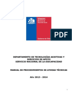 MANUAL PROCEDIMIENTO DE AYUDAS TÉCNICAS 2013 - 2014.doc
