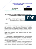 ANN AND IMPEDANCE COMBINED METHOD FOR FAULT LOCATION IN ELECTRICAL POWER DISTRIBUTION SYSTEMS.pdf