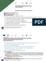 Proiect Didactic Bazat Pe Instruirea Diferentiata