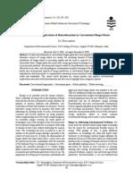 Environmental Implications of Biomethanation in Conventional Biogas Plants