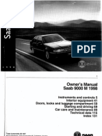Owners Manual 9000 M98 [OCR]