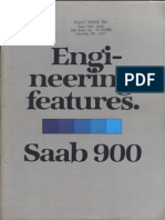 Saab 900 Engineering features 1979 [OCR]
