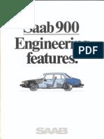 Saab900 Engineeringfeatures1981 [OCR]