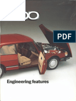 Saab 900 Engineering features 1985 [OCR]