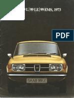 73 Saab 99l 99le 99ems Brochure [OCR]