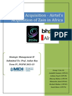 Bain's Acquistion of Airtel