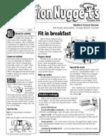Nutrition Nuggets December 2014