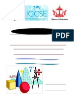 Igcse Maths Introduction Cover