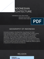 Indonesian Architecture i