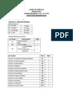 Spm Bi Bk 1 Tov 2014 Mark Scheme