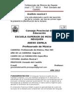 2013 Análisis Musical I, Apuntes de Cátedra