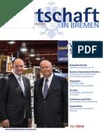 Wirtschaft in Bremen 11/2014 - 1. Unternehmensnachfolgetag