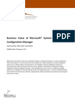 System Center Configuration Manager 2012 Business Value White Paper