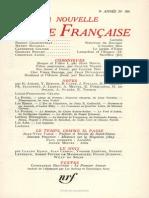 La Nouvelle Revue Francai