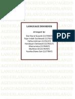 1. Language Disorder 1-13