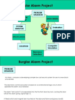 Electronics - Burglar Alarm Project
