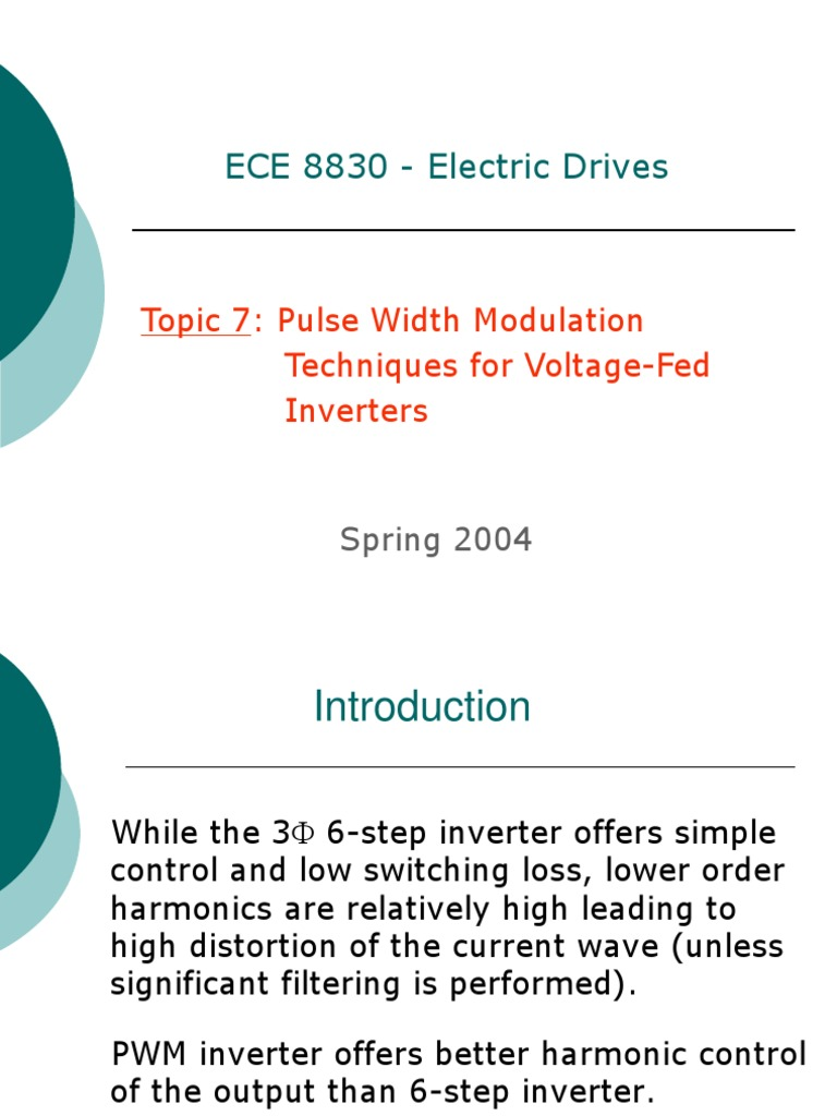 88307appt Power Inverter Electrical Engineering Voltage Controlled Pwm