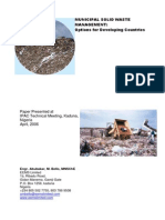ABUBAKAR 2006 Municipal Solid Waste Management Options for Developing Countries